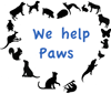WE HELP PAWS